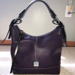 Dooney & Bourke purple handbag/shoulderbag